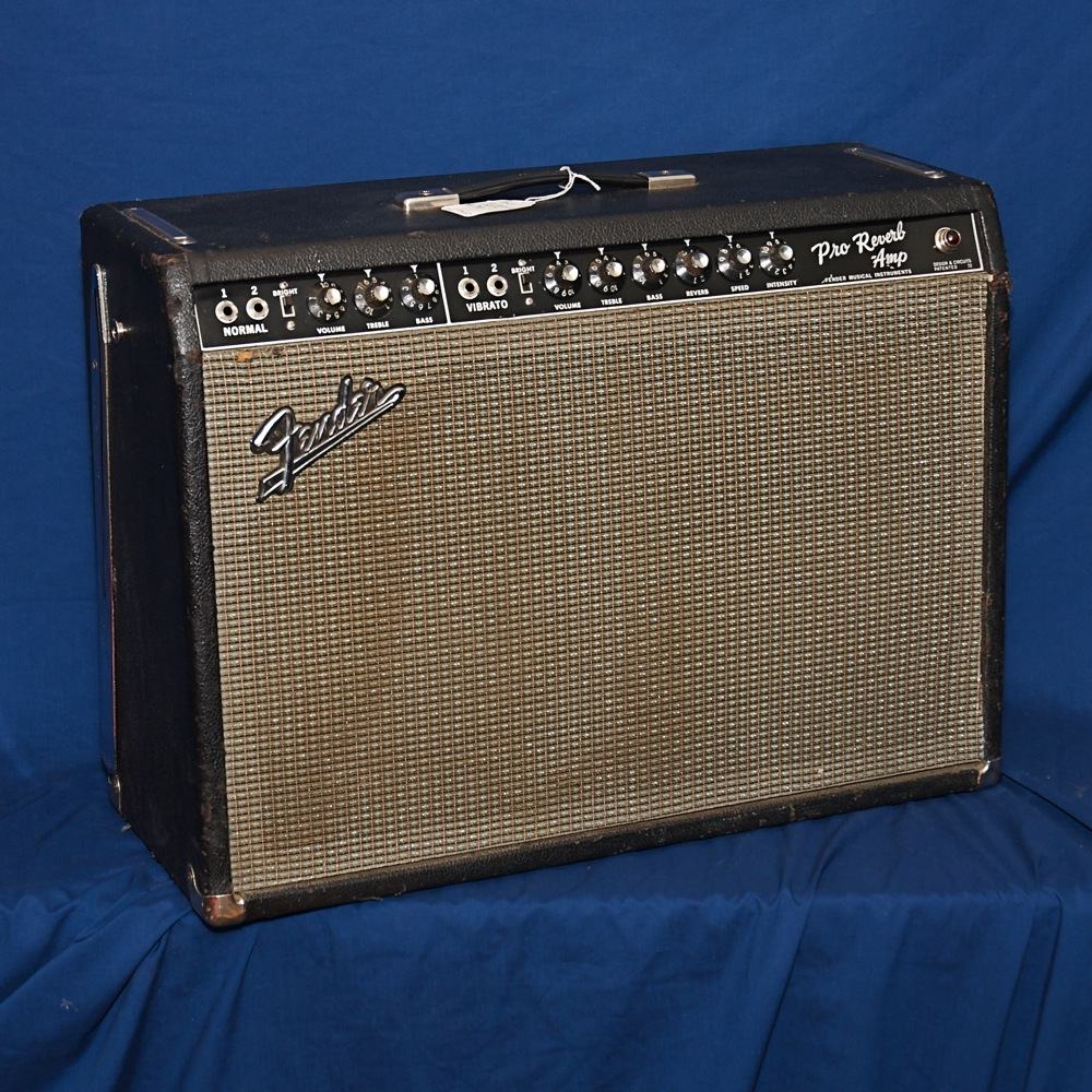 Fender Pro Reverb '66 blackface. Click to enlarge
